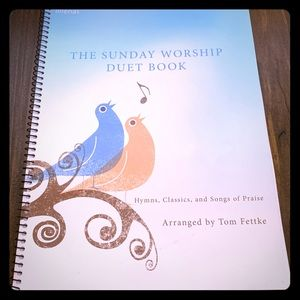The Sunday Worship Duet Piano spiral bound book